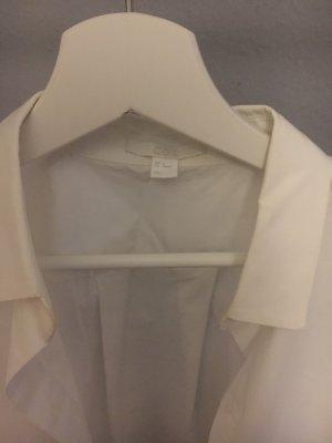 COS Koszulowa bluzka biały