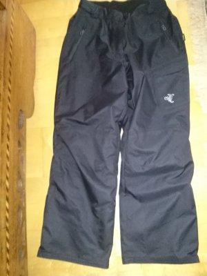 Pantalone da neve nero Poliestere