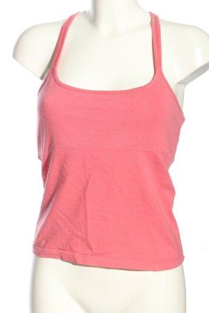 Unlimited Top corto rosa stile casual