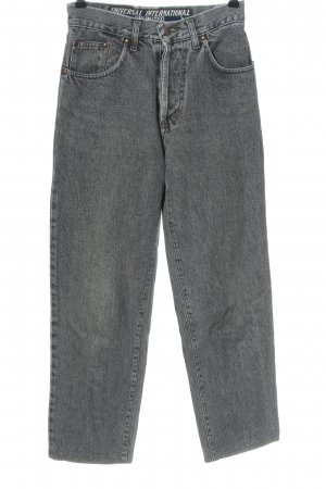 Unlimited Jeans a vita alta grigio chiaro stile casual