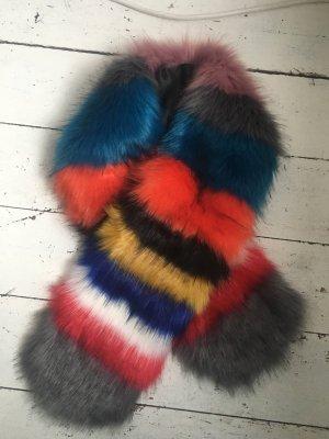 Unmade Bufanda de punto multicolor