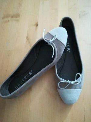 Unnützer Ballerina Taupe 36,5