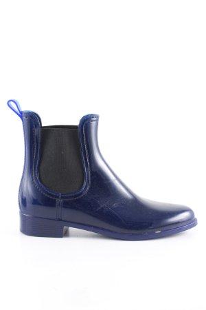 unnützer Gumowe buty niebieski W stylu casual