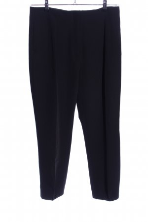 UNQ Bundfaltenhose schwarz Business-Look