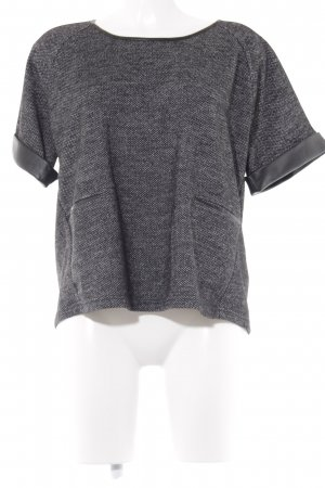 UNQ Oversized Shirt meliert Casual-Look