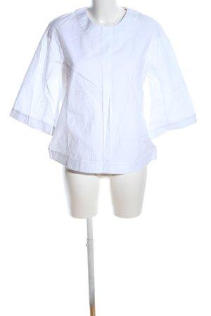 UNQ Schlupf-Bluse weiß Casual-Look