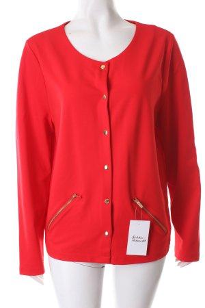 UNQ Sweatblazer rot klassischer Stil
