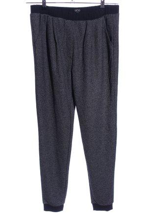 UNQ Pantalon de jogging gris clair moucheté style décontracté