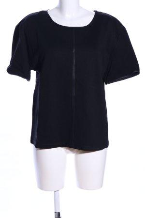 UNQ T-Shirt schwarz Casual-Look