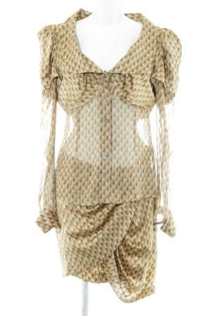 Unrath&Strano Woven Twin Set abstract pattern elegant