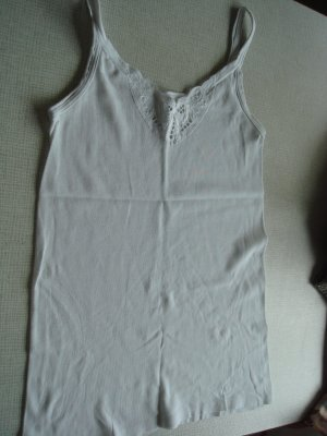 / Négligé blanc coton