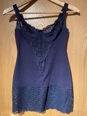 FERI Lingerie Undergarment dark blue-blue cotton