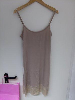 Kaffe Fond de robe vieux rose coton