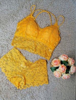 Onderbroek goud Oranje