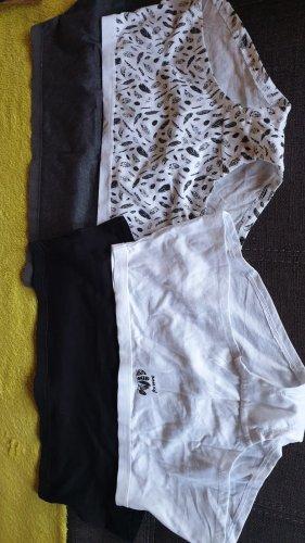 Primark Bottom white-black