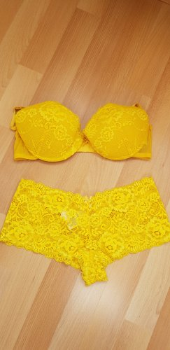 H&M Lingerie Set yellow