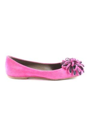 Unützer Ballerinas mit Spitze pink Casual-Look