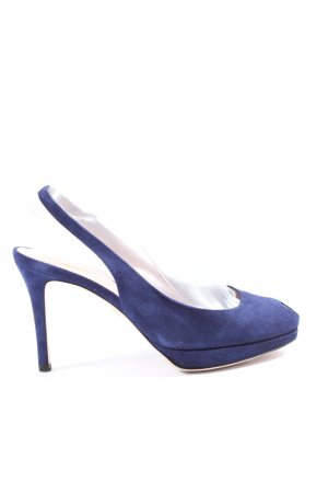 Unützer High Heels blau Casual-Look