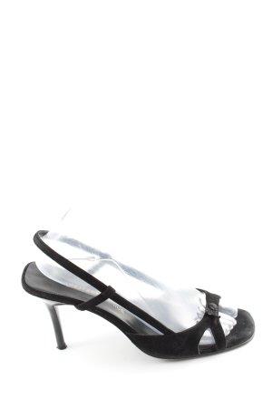 Unützer Riemchen-Sandaletten schwarz Elegant