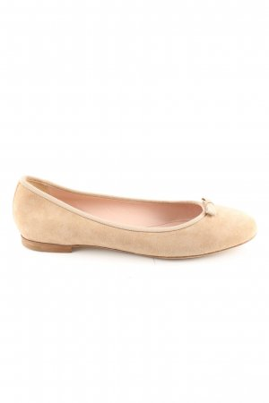 Unützer Slingback Ballerinas cream casual look