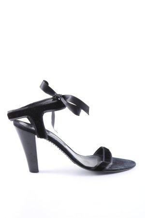 Unützer Tacones sin talón negro estilo «business»