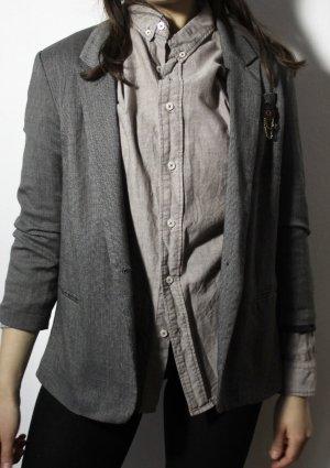 Urban Outfitters Blazer Boyfriend gris