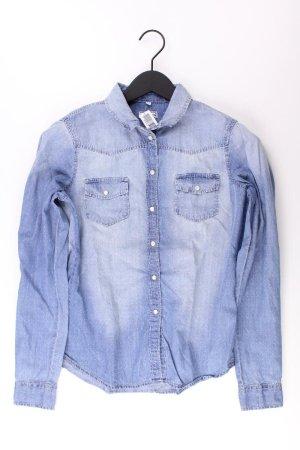 UP Fashion Blouse en jean bleu-bleu fluo-bleu foncé-bleu azur coton