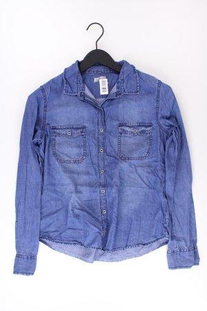 Up Fashion Jeansbluse Größe 38 Langarm blau