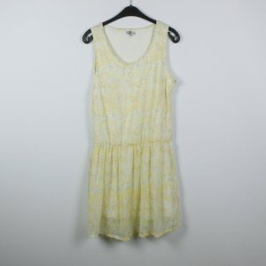 Vestido Hippie amarillo claro Poliéster