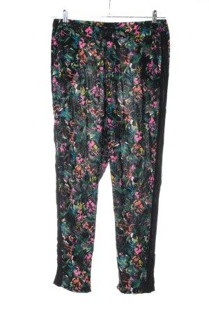 UpFashion Stoffhose khaki-pink Casual-Look