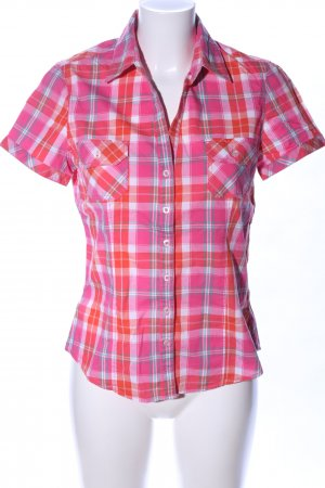 Up2fashion Short Sleeve Shirt check pattern casual look