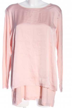Up2fashion Langarm-Bluse pink Business-Look
