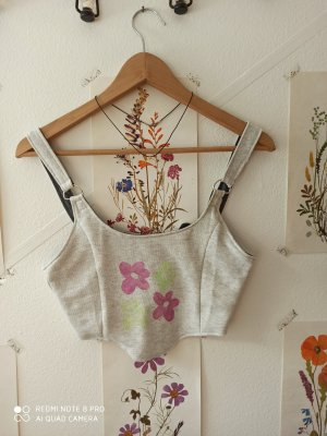 upcycled Corset style Top