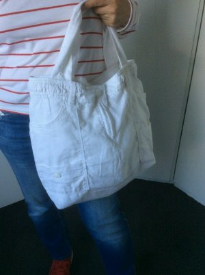 *Upcycling* Leinen-Tasche-Beutel H+M