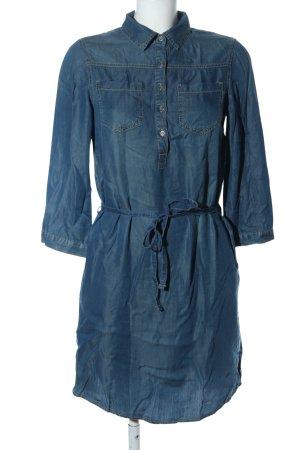 UpFashion Jeanskleid blau Casual-Look