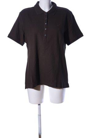 UpFashion Polo-Shirt braun Casual-Look