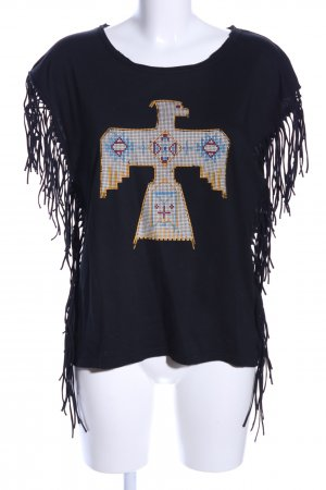 UpFashion Print-Shirt Motivdruck extravaganter Stil