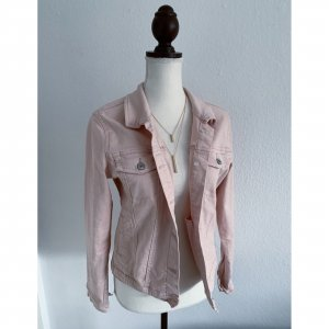 UpFashion rosa rosé Jeansjacke Jeans Jacke leichte Jacke Größe L 38 40