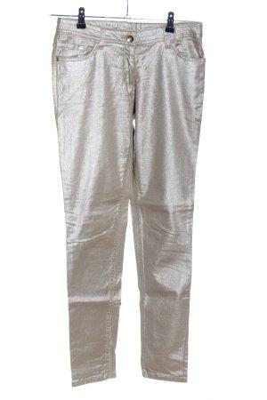 UpFashion Skinny Jeans goldfarben Elegant