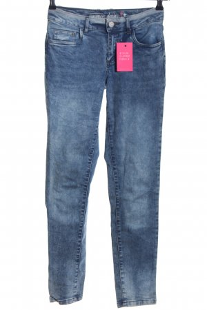 UpFashion Slim Jeans blau Casual-Look