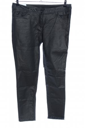 UpFashion Pantalón elástico negro estilo «business»