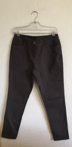 UpFashion Spodnie ze stretchu ciemnoszary