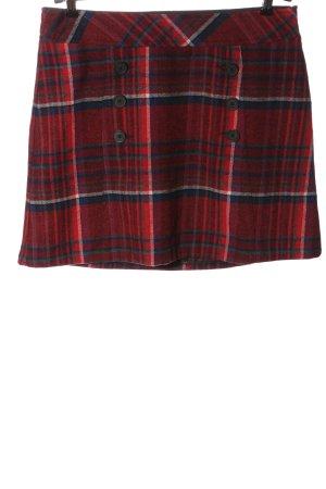 UpFashion Wool Skirt check pattern casual look