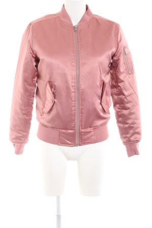 Urban Classics Bomberjacke pink Casual-Look