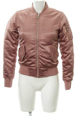 Urban Classics Bomberjacke roségoldfarben Casual-Look