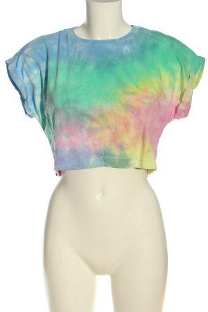 Urban Classics Camicia cropped multicolore stile casual