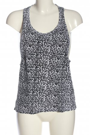 Urban Classics Top cut out blanco-negro estilo extravagante