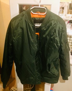 Urban Classics Bomber Jacket green grey