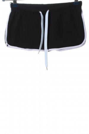 Urban Classics Hot Pants schwarz-weiß Casual-Look