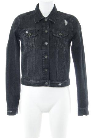 Urban Classics Jeansjacke schwarz